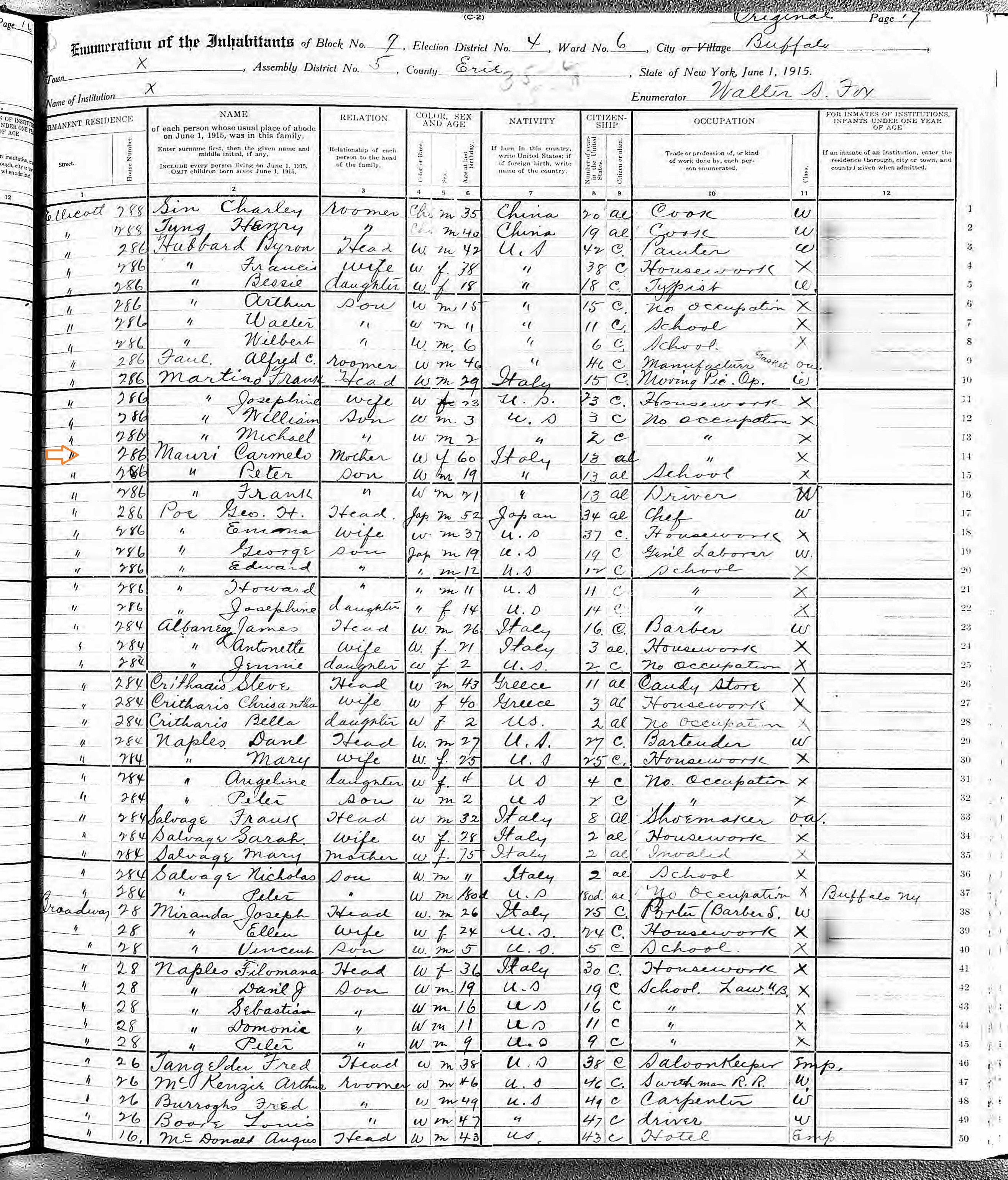 Italiangenealogy Looking For Birth Record