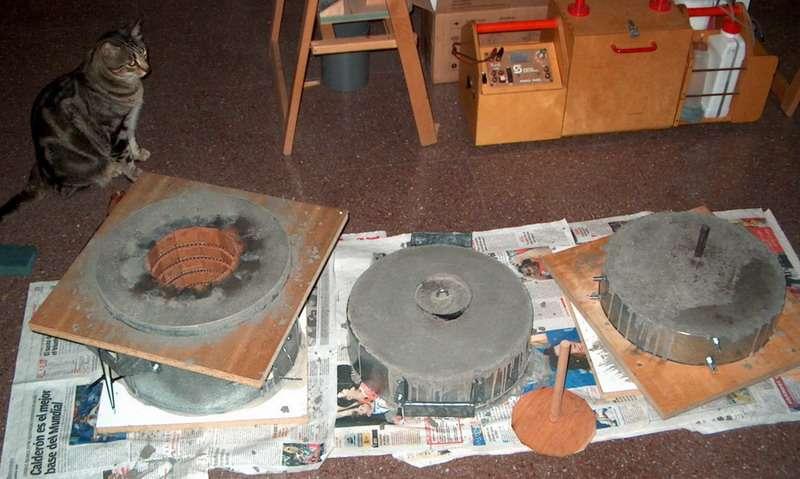 Mortero refractario casero transportes de paneles de madera for Mortero para ladrillos