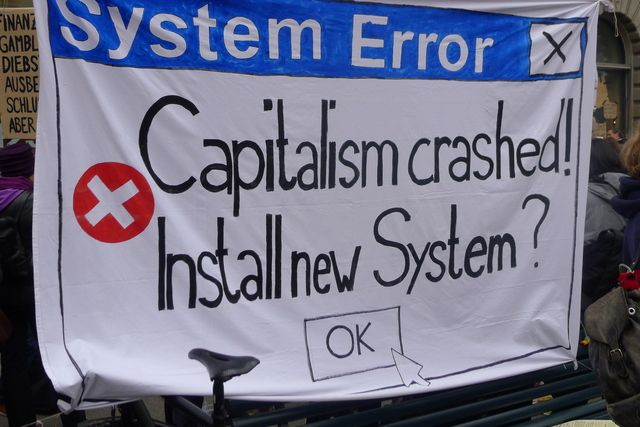 Capitalism has crashed
