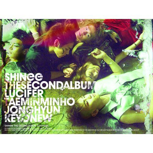 Download [Album] SHINee – Vol  2 Lucifer